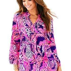 Lilly Pulitzer Sarasota tunic-It s a Jungle in Her